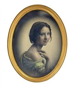 Foto antigua retocada para dar un tono sonrosado a las mejillas