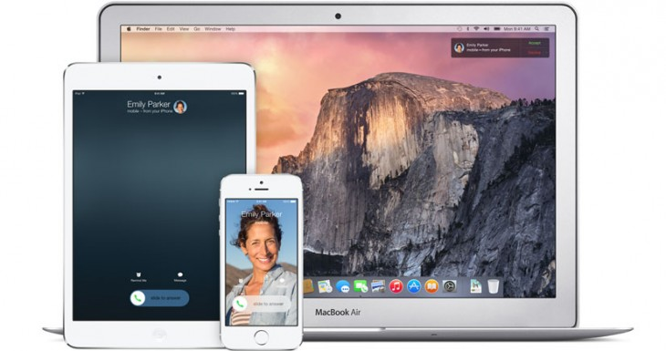 Con iOS 9 Continuity funcionará a través de la red móvil
