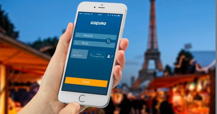 Con esta aplicación solo necesitarás tu iPhone para viajar por toda Europa