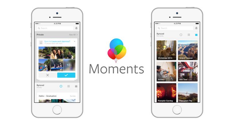 Facebook Moments hace más fácil compartir fotos con amigos