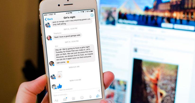 Cómo compartir tu ubicación desde Facebook Messenger