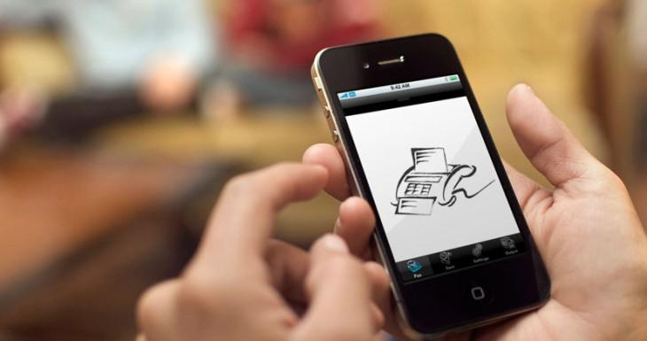 Cómo enviar un documento por fax desde el iPhone