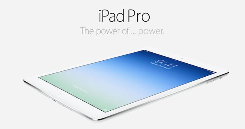El iPad Pro tendrá resolución de 2.732 x2.048 según sugiere un código de iOS 9