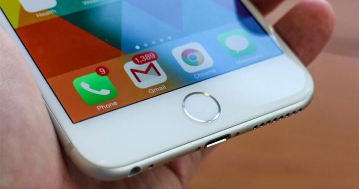 Los futuros iPhones podrían tener un botón Home virtual