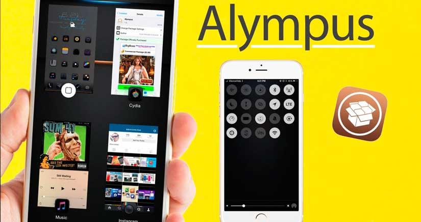 La multitarea del IPhone mola mucho más con Alympus, mira cómo funciona…