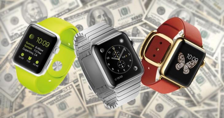 El Apple Watch consigue una cuota de mercado del 75% en su primer trimestre