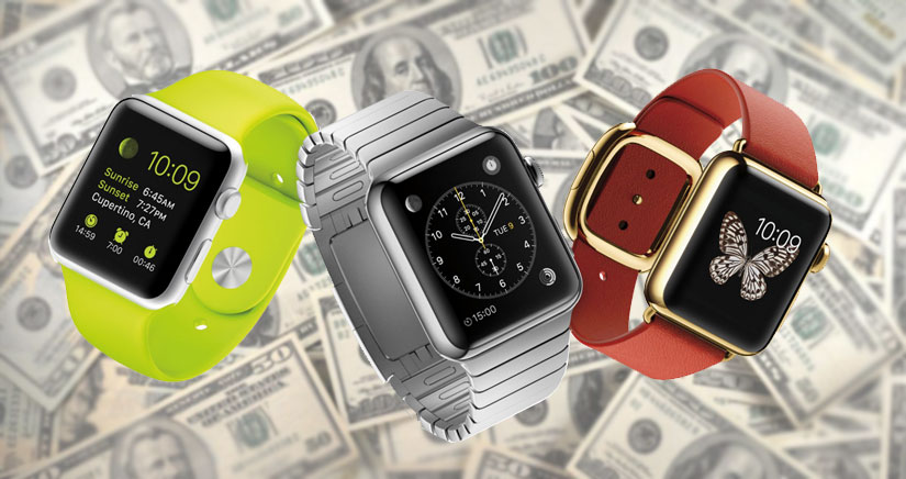 El Apple Watch consigue una cuota de mercado del 75% en su primer trimestre