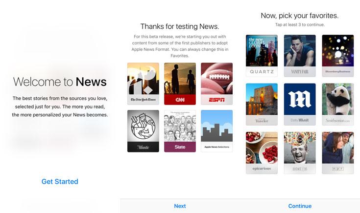 Así es Apple News, la nueva aplicación de noticias de Apple