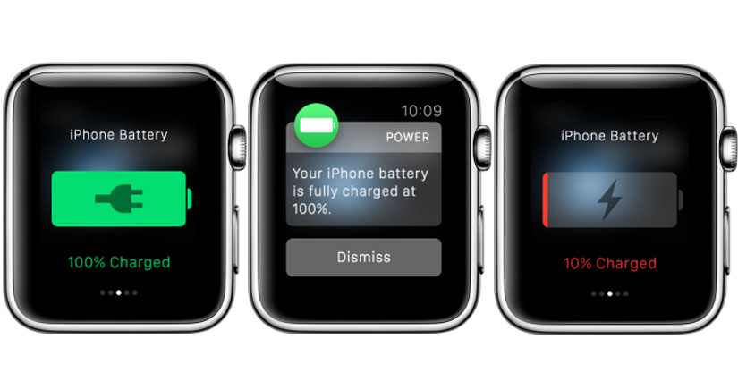 Con Power para Apple Watch siempre sabrás el nivel de batería de tu iPhone