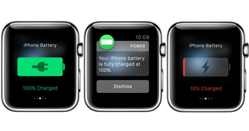 Con Power para Apple Watch siempre sabrás el nivel de batería de tu iPhone