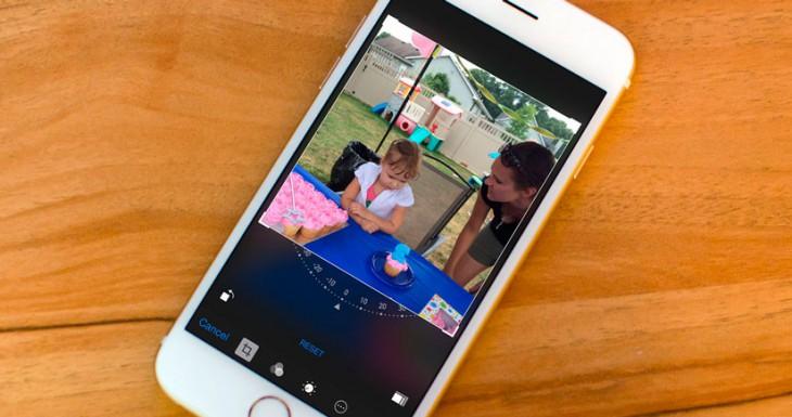 Cómo alinear y rotar tus fotos con el iPhone