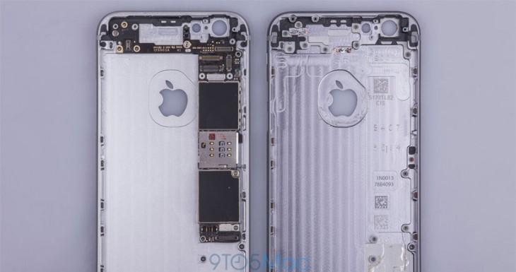 Se filtran fotos del iPhone 6S que indican que las novedades serán internas y no de diseño