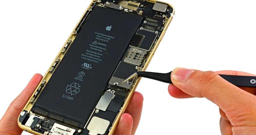 La batería del iPhone 6S será más pequeña….