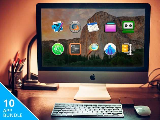 Paga lo que quieras por este pack de 10 programas premium para Mac valorado en 383$