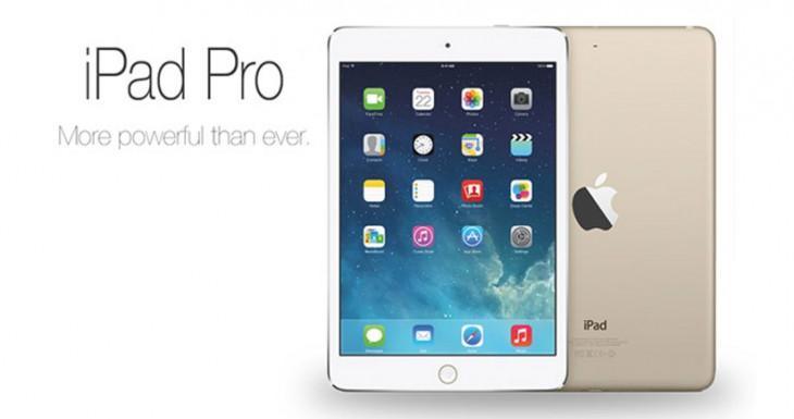 El iPad Pro funcionará con iOS 9.1