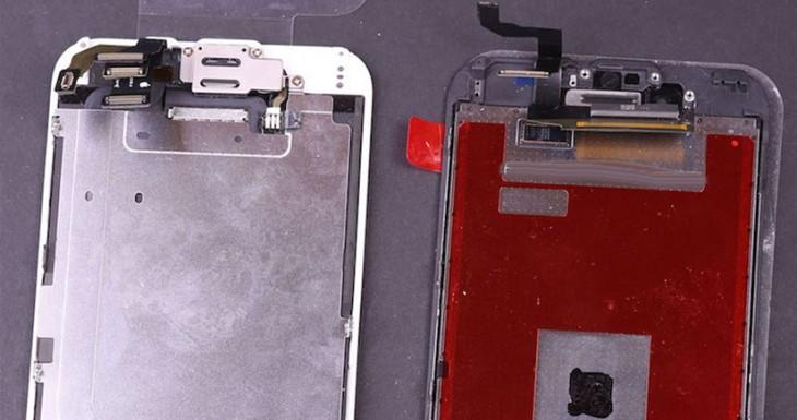 El panel frontal del iPhone 6s tiene un chip misterioso que podría estar relacionado con Force Touch [Fotos]