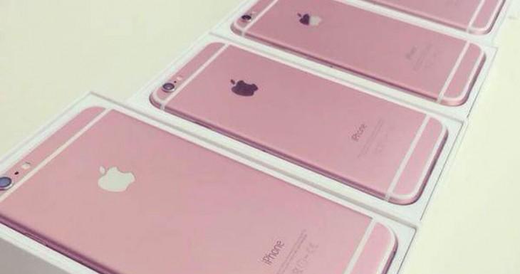 Se filtran fotos de un supuesto iPhone 6s rosa