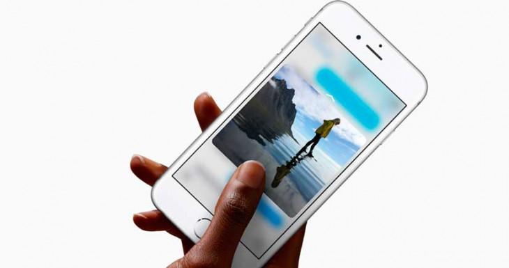 Así funciona 3D Touch, la nueva forma de interactuar con el iPhone 6s [Vídeo]