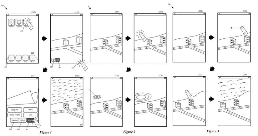 Una nueva patente demuestra cómo Apple podría utilizar 3D Touch para dar vida a sus mapas