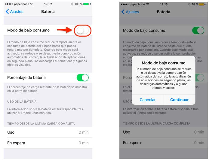 Ahoro-de-btería-iOS-9
