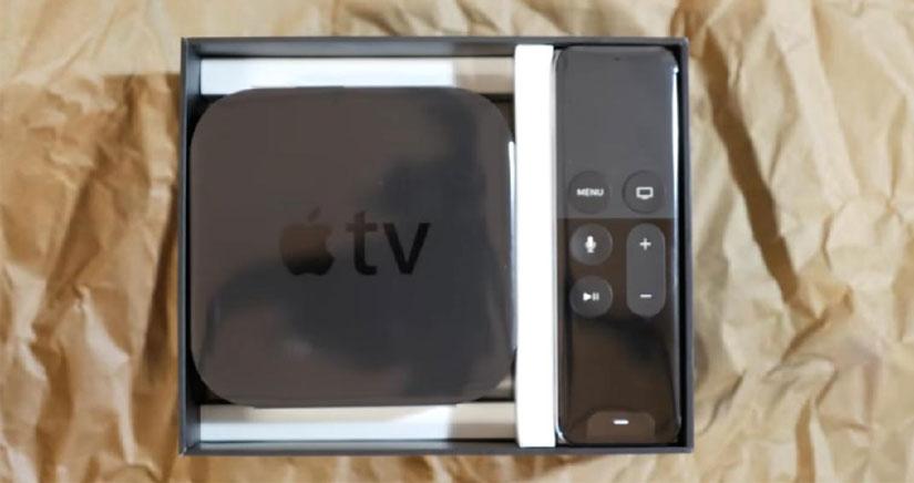 El primer vídeo de unboxing de la cuarta generación de Apple TV ya está en YouTube
