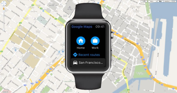Google Maps ya es compatible con el Apple Watch