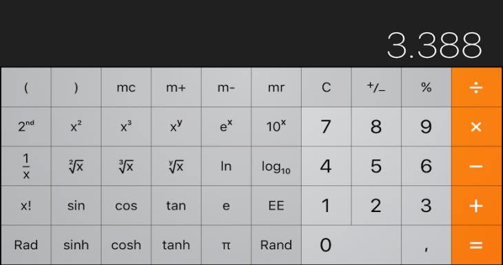 Olvidate de la calculadora con iOS 9