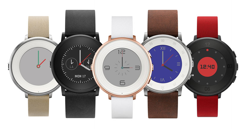 Pebble lanza su primer smartwatch redondo: el Pebble Time Round