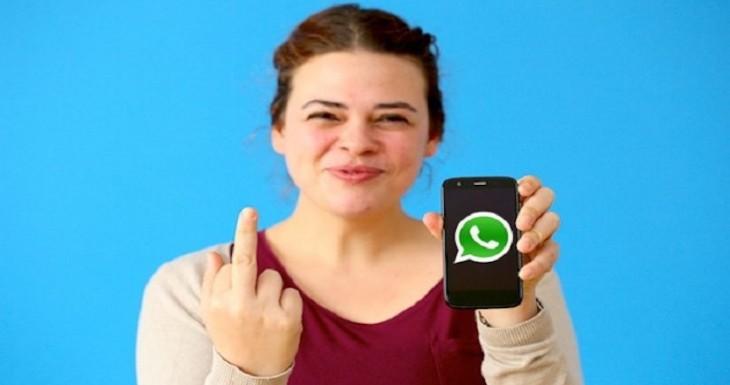 Ya puedes tener el emoji del dedo de en medio en Whatsapp para iPhone