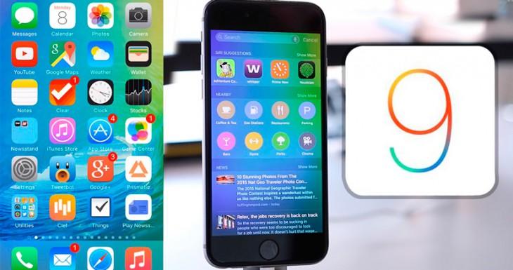 Pequeñas, pero potentes, nuevas funciones en iOS 9