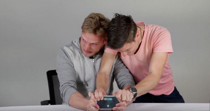 Tendrás que entrenarte, mucho, para doblar el iPhone 6s Plus [Vídeo]