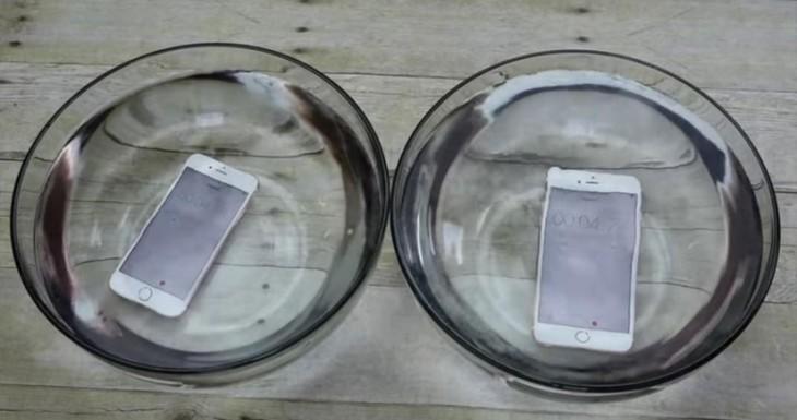 El iPhone 6s y el iPhone 6s Plus siguen funcionando tras pasar toda una hora bajo el agua