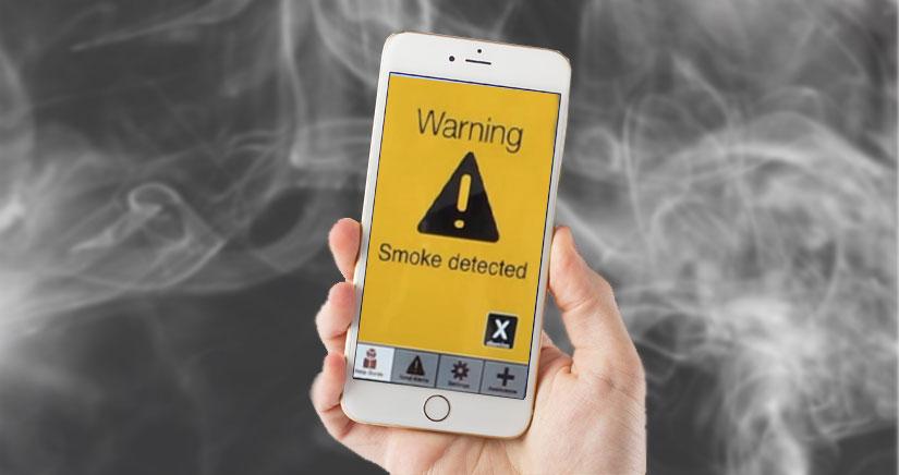 Tu próximo iPhone podría ser un detector de humo