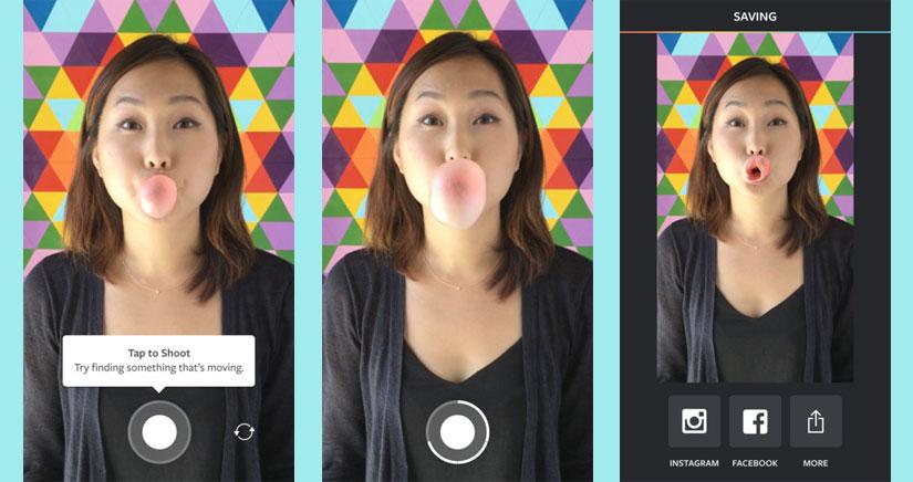 Instagram le hace la competencia a Live Photos con Boomerang