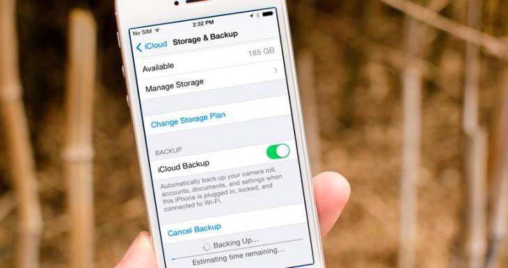 Cómo realizar una copia de seguridad con iOS 9 en iCloud