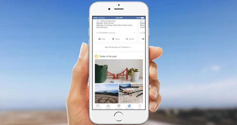 Facebook actualiza la barra de notificaciones para iOS