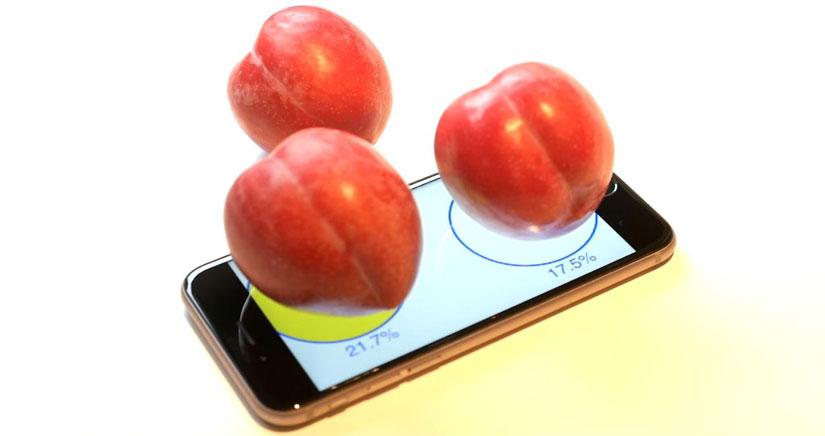 ¡Ya puedes pesar ciruelas con tu iPhone 6s!