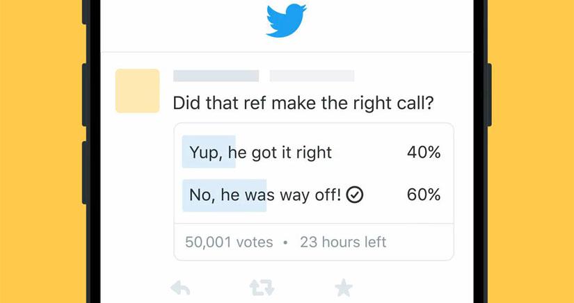 Twitter anuncia novedades: encuestas y una renovación de la versión para Mac