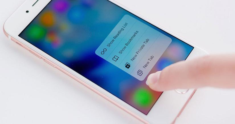 WhatsApp será compatible con el 3D Touch del iPhone 6s