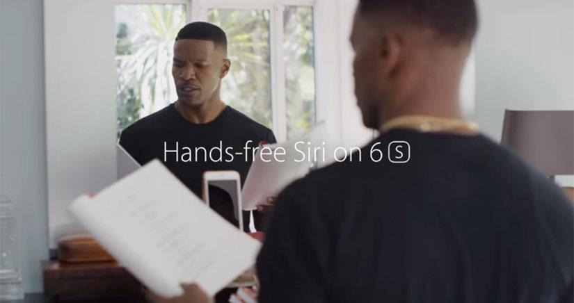 Apple estrena tres nuevos anuncios para el iPhone 6s, centrados en Siri y en la cámara