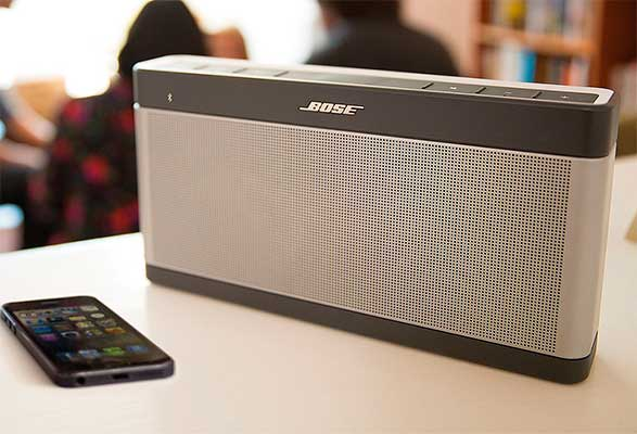 Altavoz inalámbrico Bluetooth de lujo - Bose SoundLink Bluetooth III