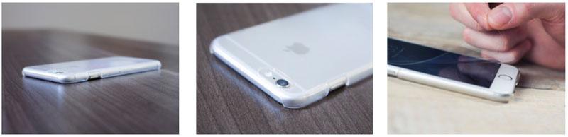 Carcasa invisible iPhone 6