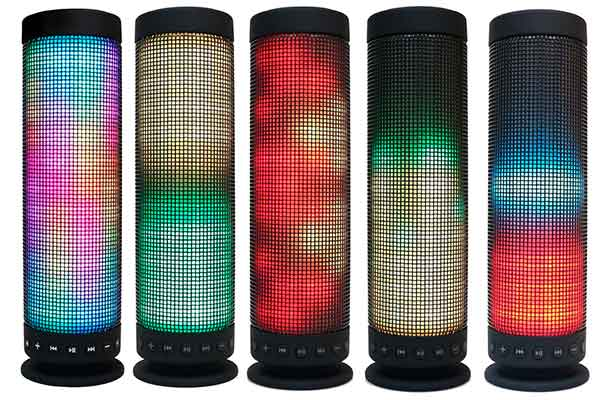 Altavoz Bluetooth con espectáculo de luces LED - Milool