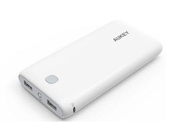 Batería externa Aukey de 20.000 mAh