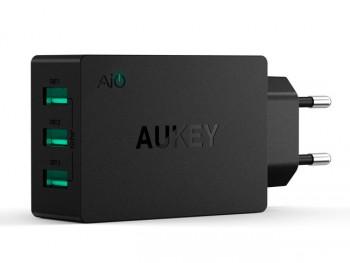 Adaptador de pared con 3 USB para carga simultánea de varios dispositivos