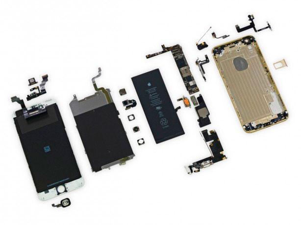 iPhone-desmontado