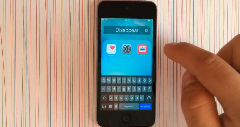 Cómo eliminar aplicaciones nativas en iOS 9 [Truco súper fácil, Vídeo]