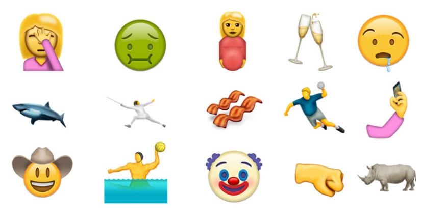 74 nuevos emojis que llegarán a tu iPhone con iOS 10