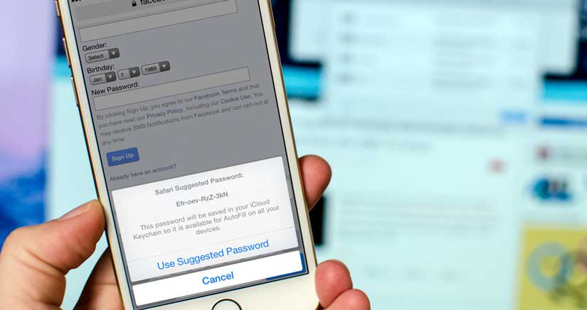 Cómo añadir contraseñas de forma manual al llavero de iCloud desde el iPhone