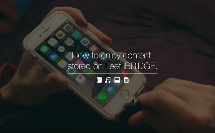 Memoria USB para iPhone de 32 Gb. LEEF iBridge